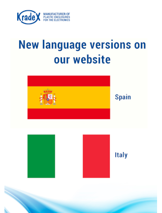 Website languages