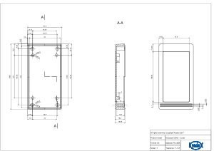 Z34: Enclosures for wall mounting