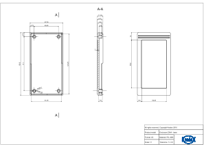 Z34A: Enclosures for wall mounting