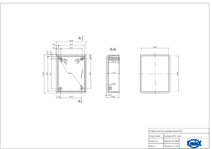 Z70: Enclosures for wall mounting