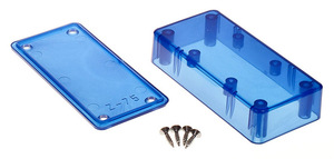 Z75: Enclosures colored translucent