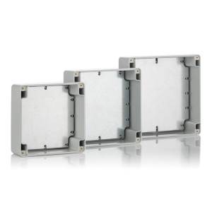 Z58S: Enclosures hermetically sealed with cast gasket