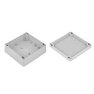 ZP150.150.60: Enclosures hermetically sealed polycarbonate
